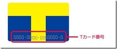 Tカード番号