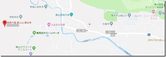 長谷寺地図