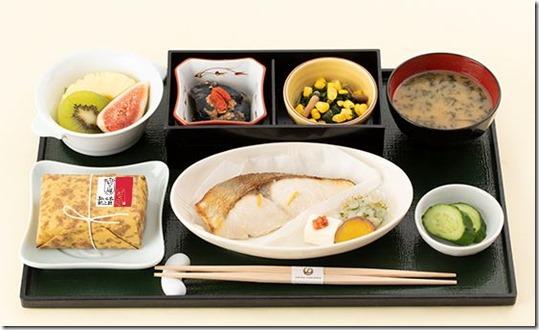 JAL 国内線ファーストクラス 食事