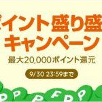 【LINEショッピング】『ポイント盛り盛りキャンペーン(2018年9月29日~30日の2日間)』開催!⇒終了しました!