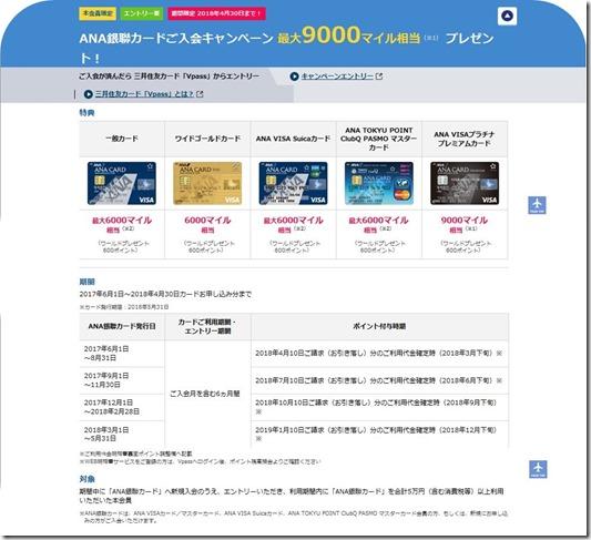 SMBCキャンペーン5 銀聯特典