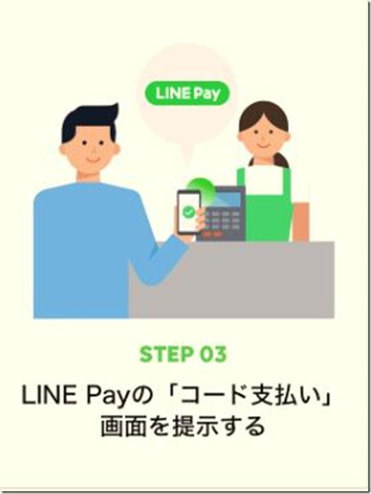 コード支払の3ステップ3
