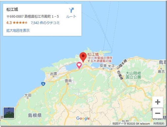 松江城地図